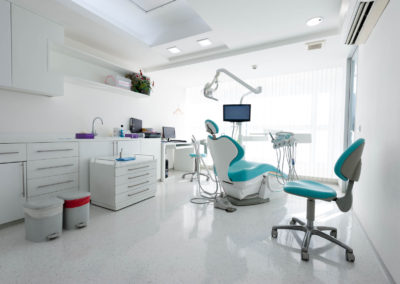 Custom Modern Dental Cabinets
