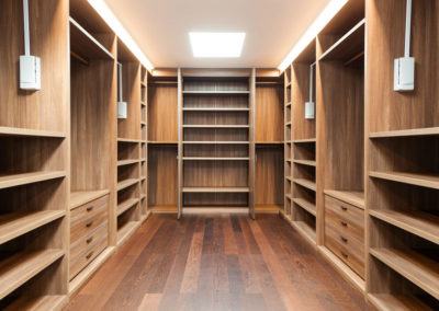 Custom Wooden Closet in Pinecrest